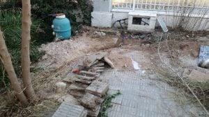 nieuwe waterleiding 2 scavengersMC clubhouse