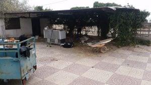 schoonmaken clubhuis terras scavengersmc