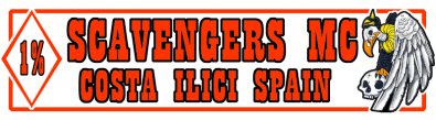 Scavengers Motorcycle club Alicante Spain