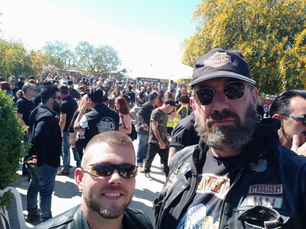 visit the swapmeet in torrelano from hierros bikers