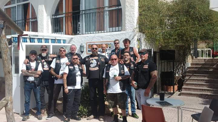 members scavengers mc alicante spain