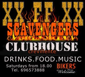 bikers always welcome at the scavengers clubhouse